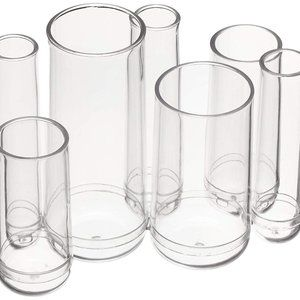 Accessories - Round Acrylic Cosmetic Makeup Organizer Storage